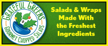 Grateful Greens Gourmet Chopped Salads - Now Delivers Anywhere in Lincoln for as low as $2.99!