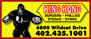 King Kong -  Burgers, Phillies, Steaks & Gyros | Reviews | Hours & Information | Lincoln NE | NiteLifeLincoln.com   King King Burgers & Fries Restaurant Delivery Service, King King Burgers & Fries Food Delivery, King King Burgers & Fries Catering, King King Burgers & Fries Carry-Out, King King Burgers & Fries, Restaurant Delivery, Lincoln Nebraska, NE, Nebraska, Lincoln, King King Burgers & Fries Restaurnat Delivery Service, Delivery Service, King King Burgers & Fries Food Delivery Service, King King Burgers & Fries room service, 402-474-7335, King King Burgers & Fries take-out, King King Burgers & Fries home delivery, King King Burgers & Fries office delivery, King King Burgers & Fries delivery, FAST, King King Burgers & Fries Menu Lincoln NE, concierge, Courier Delivery Service, Courier Service, errand Courier Delivery Service, King King Burgers & Fries, Delivery Menu, King King Burgers & Fries Menu, Metro Dining Delivery, metrodiningdelivery.com, Metro Dining, Lincoln dining Delivery, Lincoln Nebraska Dining Delivery, Restaurant Delivery Service, Lincoln Nebraska Delivery, Food Delivery, Lincoln NE Food Delivery, Lincoln NE Restaurant Delivery, Lincoln NE Beer Delivery, Carry Out, Catering, Lincoln's ONLY Restaurnat Delivery Service, Delivery for only $2.99, Cheap Food Delivery, Room Service, Party Service, Office Meetings, Food Catering Lincoln NE, Restaurnat Deliver From Any Restaurant in Lincoln Nebraska, Lincoln's Premier Restaurant Delivery Service, Hot Food Delivery Lincoln Nebraska, Cold Food Delivery Lincoln Nebraska