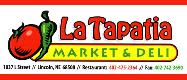 La Tapatia Market & Deli,	La Tapatia Mexican Restaurant Delivery, La Tapatia Delivered Anywhere in Lincoln Nebraska, La Tapatia Menu