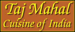 Taj Mahal - Cuisine of India - Take-Out & Delivery Menu - Lincoln NE