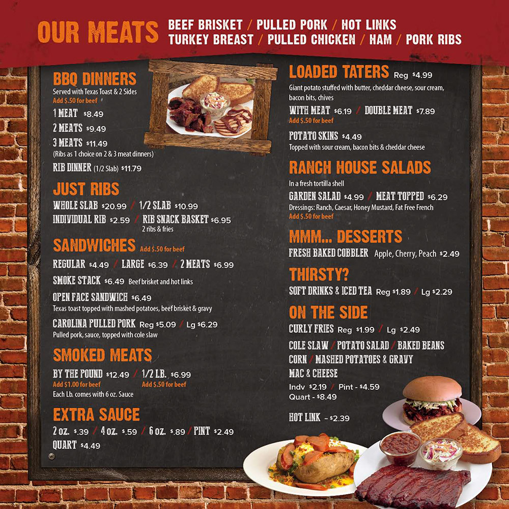 Hog Wild Pit Bar B Q Menu With Prices 3210 Cornhusker Hwy Lincoln Ne 68504 Order Online Metro Dining Delivery