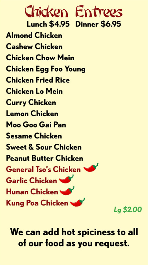 Chinese Restaurants That Deliver In Lincoln Ne