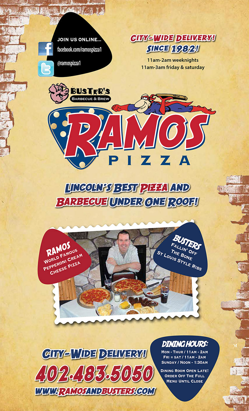 ramos pizza & buster's bbq delivery menu - lincoln ne - provided by