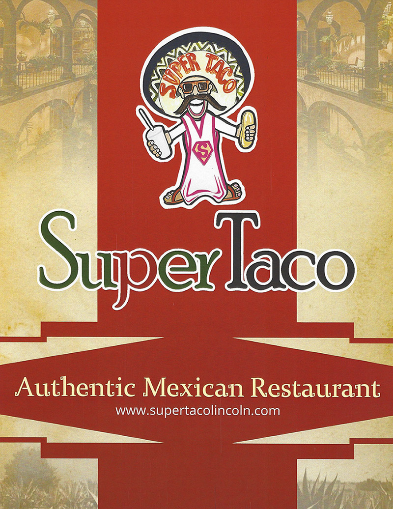 Super Taco Mexican Delivery Menu Lincoln Ne Provided By Metro Dining