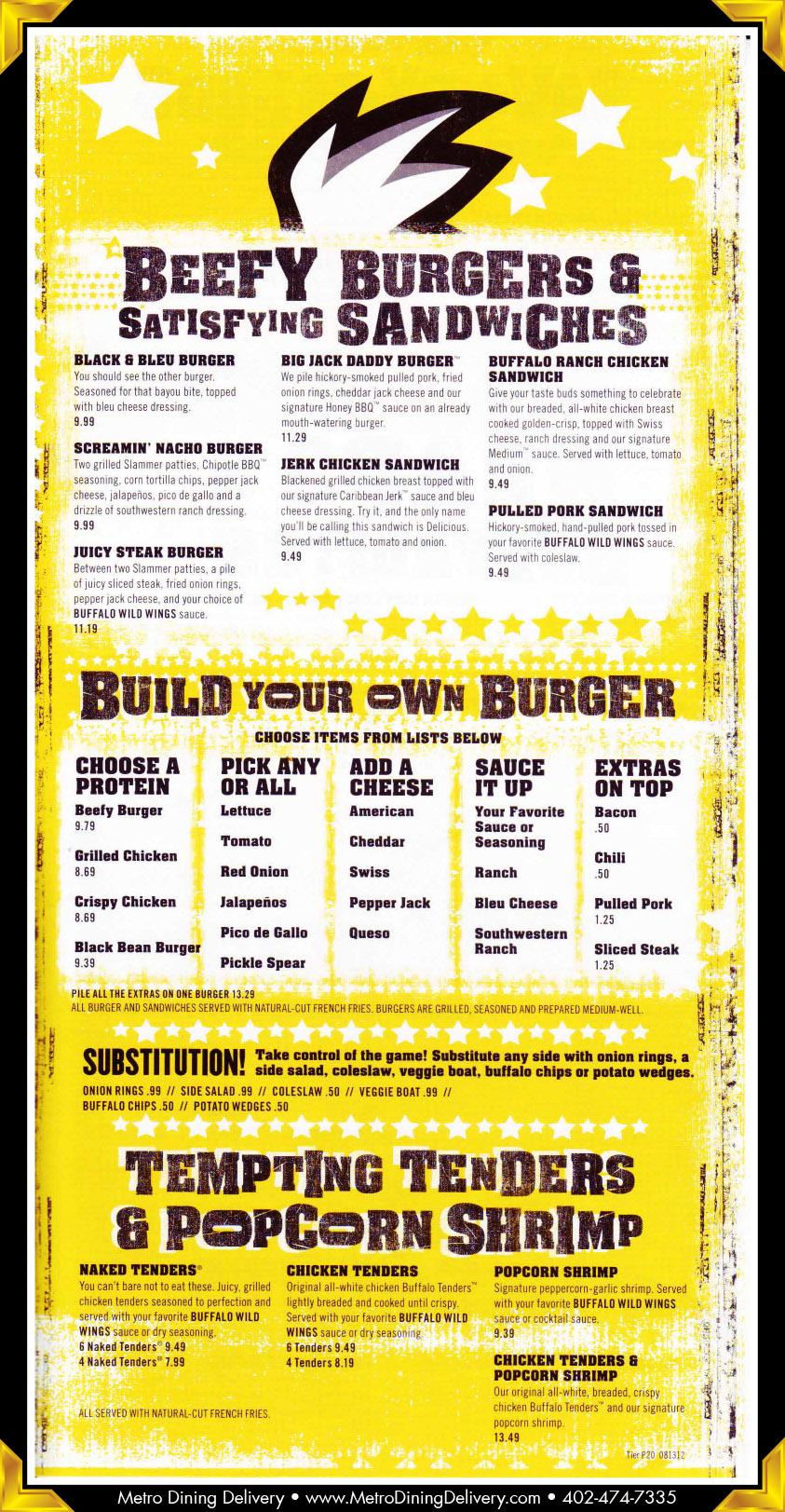 Buffalo Wild Wings Drink Menu Nutrition – Blog Dandk